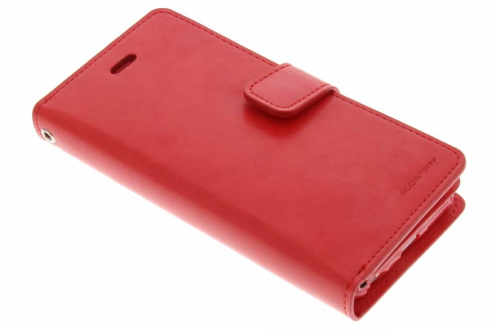 Mansoor Wallet Diary Case voor de iPhone 6(s) Plus - Rood
