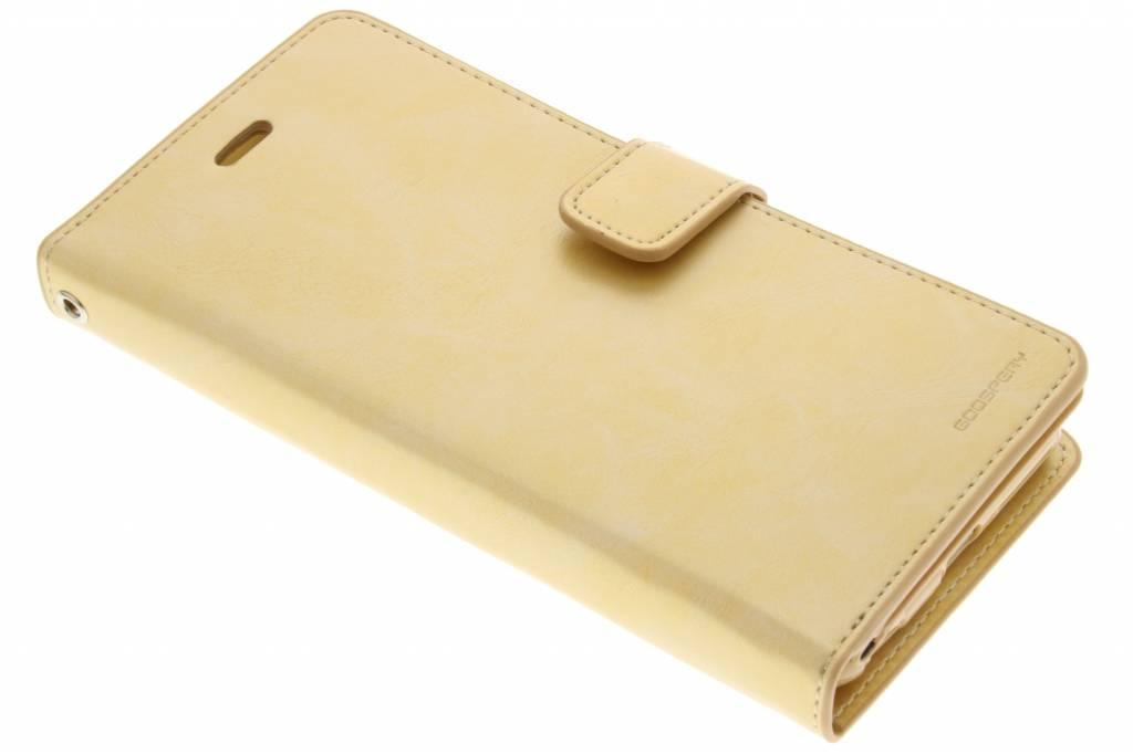 Mercury Goospery Mansoor Wallet Diary Case voor de iPhone 6(s) Plus - Goud