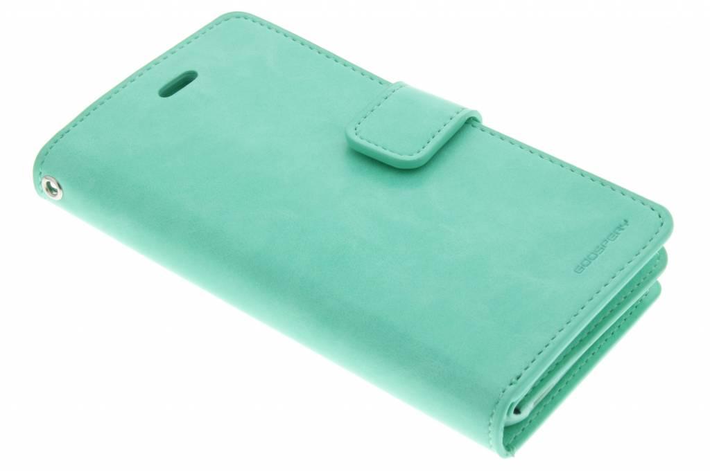 Mansoor Wallet Diary Case voor de iPhone 6(s) Plus - Groen