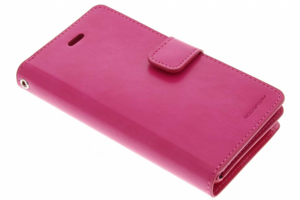 Mansoor Wallet Diary Case voor de iPhone 6(s) Plus - Fuchsia