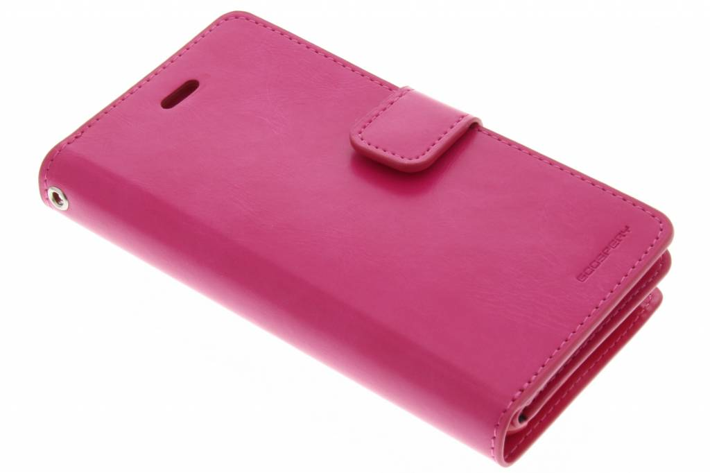 Mercury Goospery Mansoor Wallet Diary Case voor de iPhone 6(s) Plus - Fuchsia