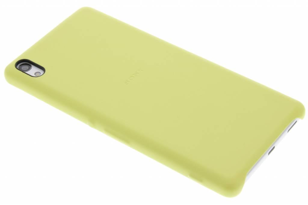 Sony Style Back Cover voor de Xperia XA Ultra - Geel