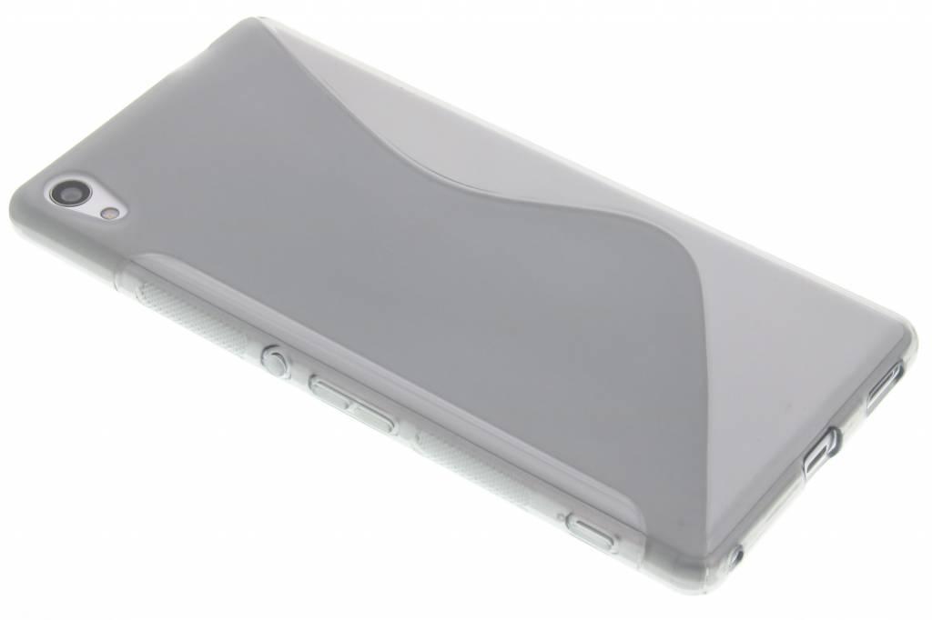 Grijs S-line TPU hoesje voor de Sony Xperia XA Ultra