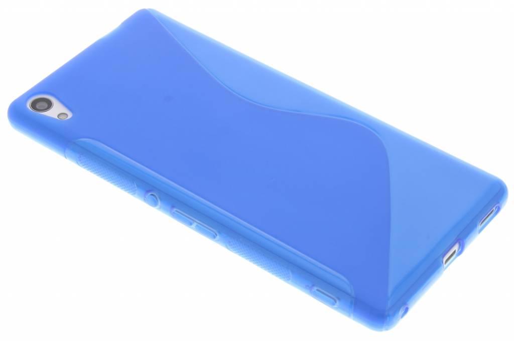 Blauw S-line TPU hoesje voor de Sony Xperia XA Ultra