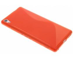 Rood S-line TPU hoesje Sony Xperia XA Ultra