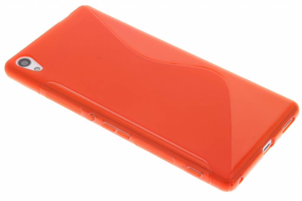 Rood S-line TPU hoesje voor de Sony Xperia XA Ultra