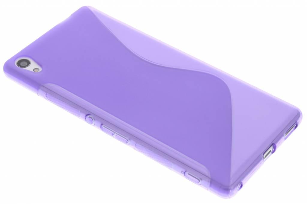 Paars S-line TPU hoesje voor de Sony Xperia XA Ultra