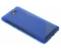 Blauw S-line TPU hoesje Huawei Y5 2 / Y6 2 Compact