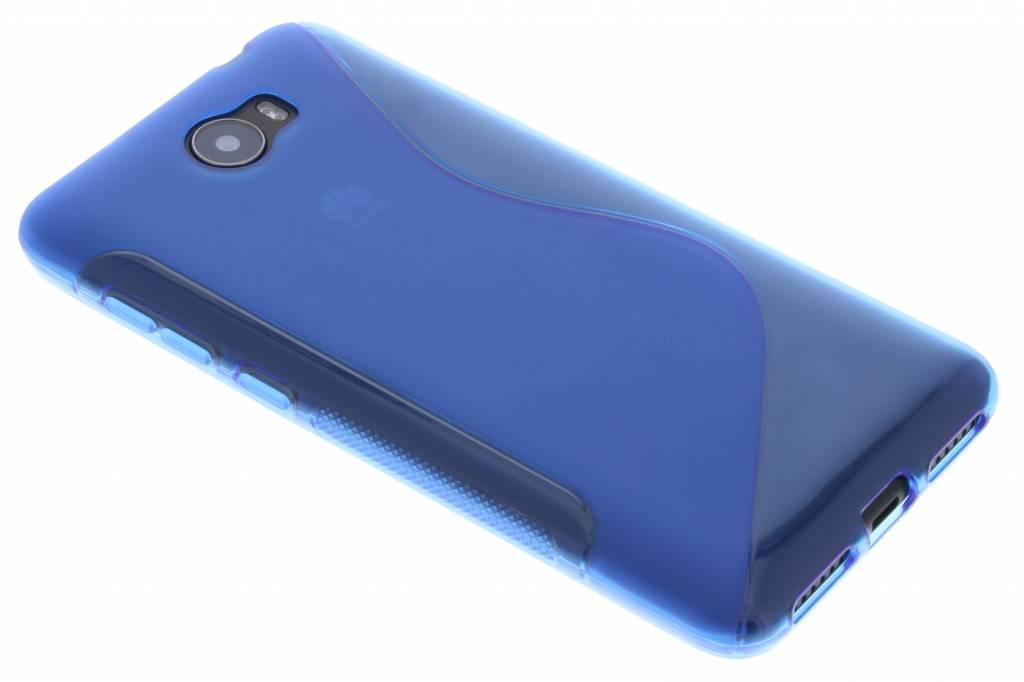 Blauw S-Line TPU hoesje voor de Huawei Y5 2 / Y6 2 Compact