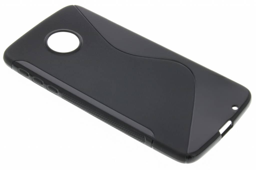Zwart S-line TPU hoesje voor de Motorola Moto Z