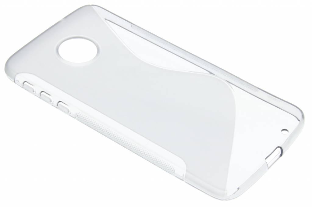 Grijs S-line TPU hoesje voor de Motorola Moto Z