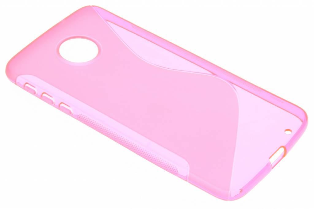 Rosé S-line TPU hoesje voor de Motorola Moto Z