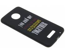 Glow in the dark TPU case Motorola Moto Z