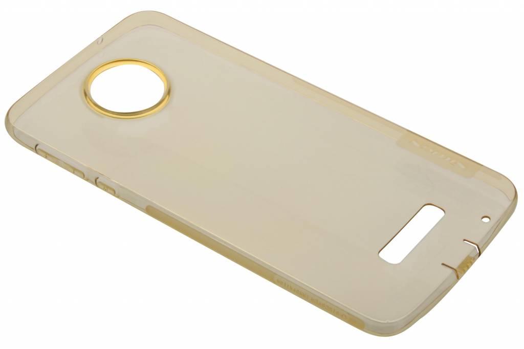 Nillkin Nature TPU Case voor de Motorola Moto Z - Oranje