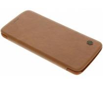 Nillkin Qin Leather slim booktype Motorola Moto Z