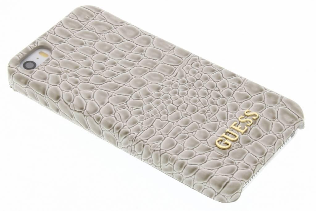 Guess Crocodile hardcase hoesje voor de iPhone 5 / 5s / SE - Beige