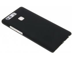 Zwart effen hardcase hoesje Huawei P9