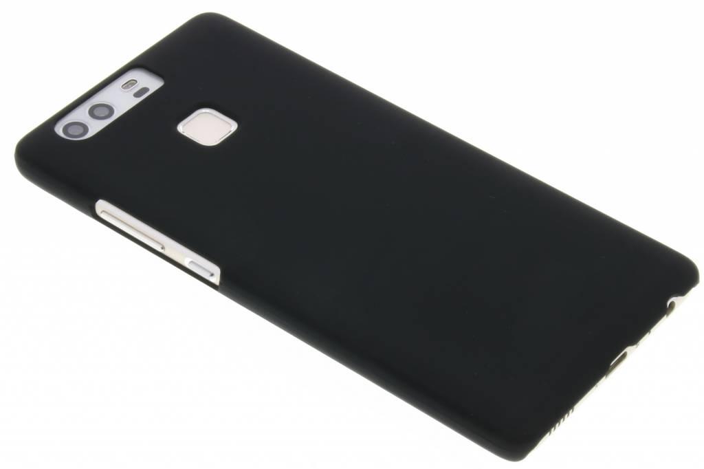Zwart effen hardcase hoesje voor de Huawei P9