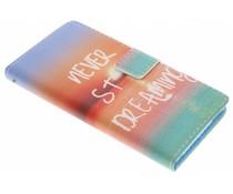 Design TPU booktype hoes Sony Xperia M4 Aqua