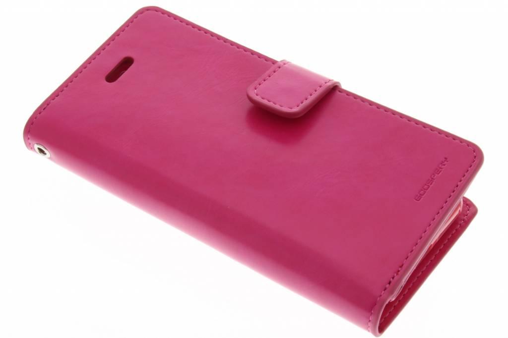 Mercury Goospery Mansoor Wallet Diary Case voor de iPhone 8 / 7 - Fuchsia