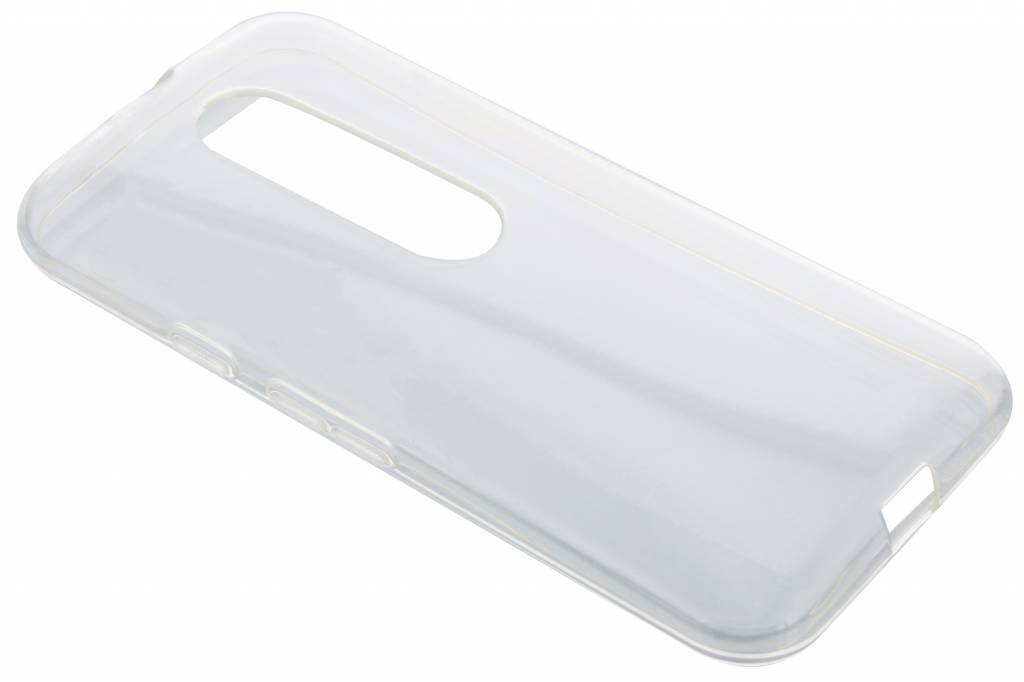 Transparante gel case voor de Motorola Moto G 3rd Gen 2015