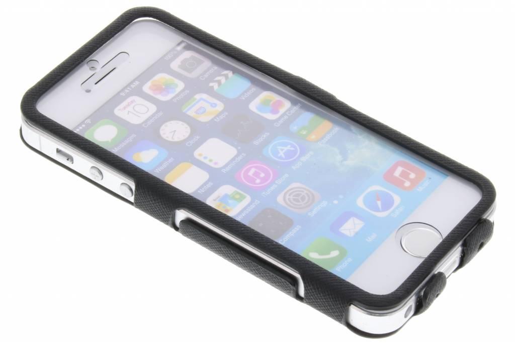 Image of Book Touch Case voor de iPhone 5 / 5s / SE - Zwart