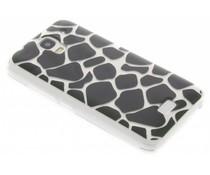 Dierenprint design Giraffe TPU hoesje Huawei Y360
