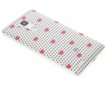 Dots and hearts design TPU hoesje Huawei Ascend Mate 7