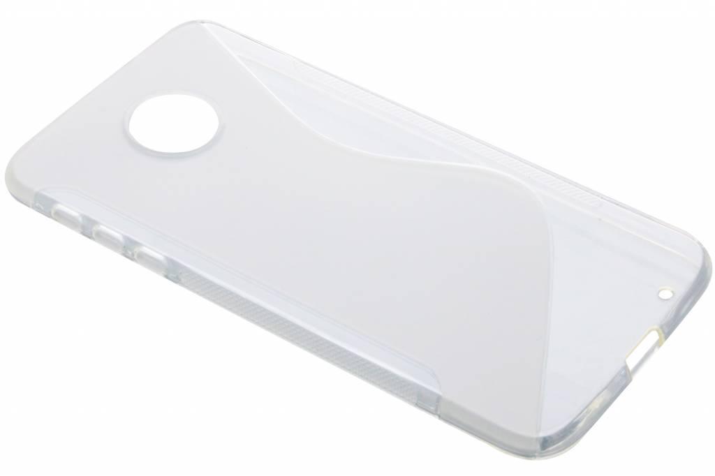Transparant S-line TPU hoesje voor de Motorola Moto Z
