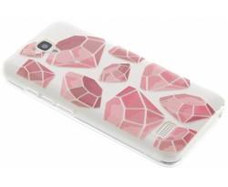 Diamonds design TPU hoesje Huawei Y5