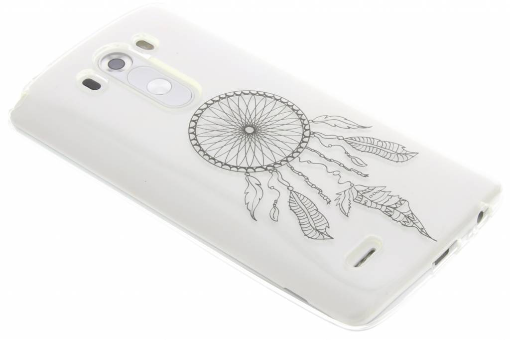Zwart dromenvanger design TPU hoesje voor de LG G3