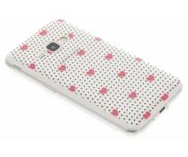 Dots and hearts design TPU hoesje Samsung Galaxy J1 (2016)
