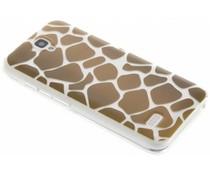Dierenprint design Giraffe TPU hoesje Huawei Y5