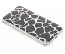 Dierenprint design Giraffe TPU hoesje Samsung Galaxy J1 (2016)