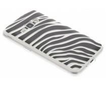 Dierenprint design Zebra TPU hoesje Samsung Galaxy J1 (2016)