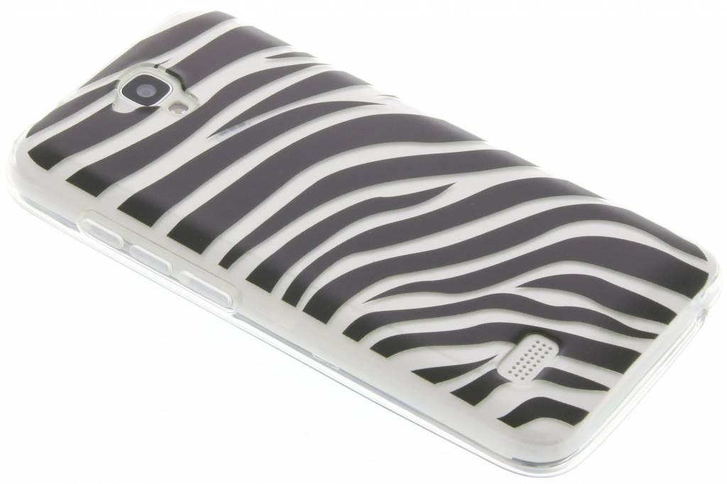 Dierenprint design Zebra TPU hoesje voor de Huawei Y5
