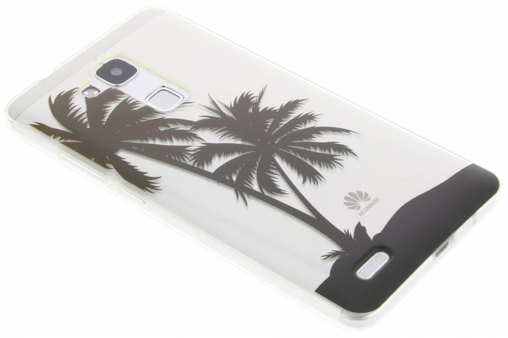 Palmtree Summer TPU siliconen hoesje voor de Huawei Ascend Mate 7
