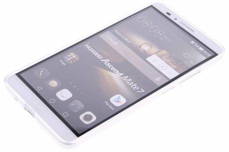 Pissenlit Fête Cas De Tpu Transparent Pour La Mesure Huawei Ascend 7 hkqB59