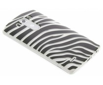 Dierenprint design Zebra TPU hoesje LG G3
