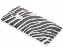 Dierenprint design Zebra TPU hoesje Huawei Mate 7