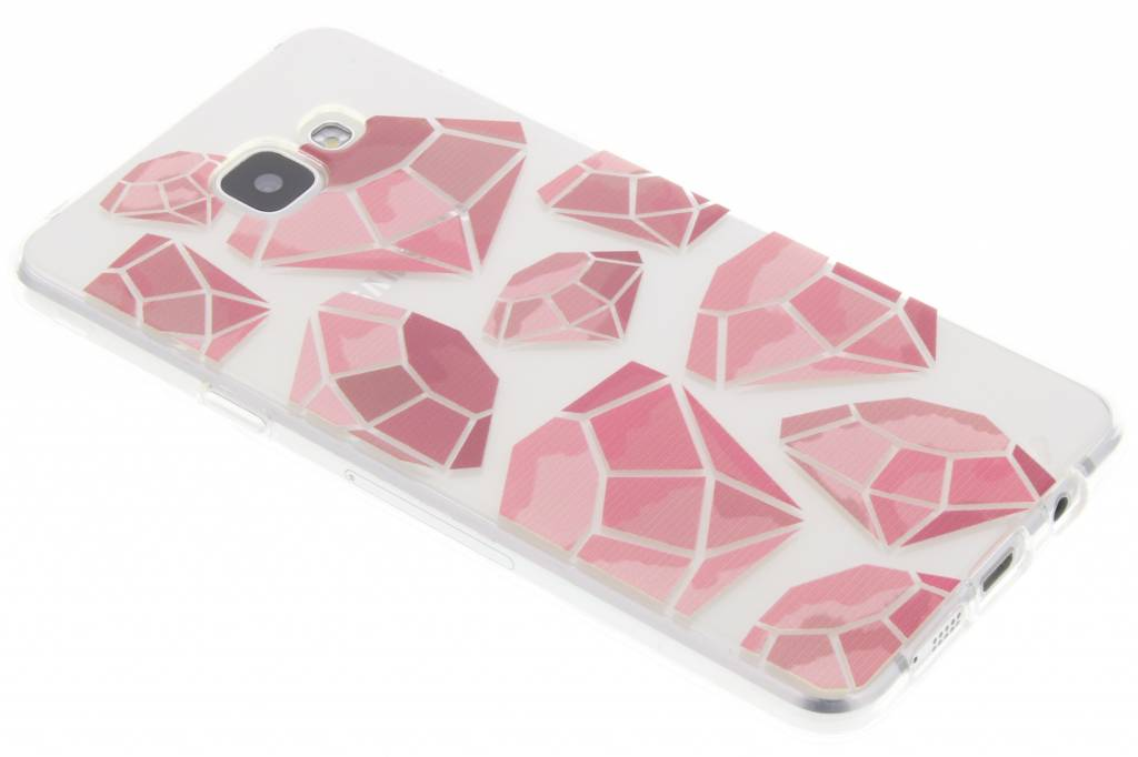 Pink diamonds design TPU hoesje voor de Samsung Galaxy A5 (2016)