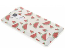 Transparant fruit design TPU hoesje Huawei Ascend Mate 7