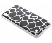 Dierenprint design Giraffe TPU hoesje LG X Power