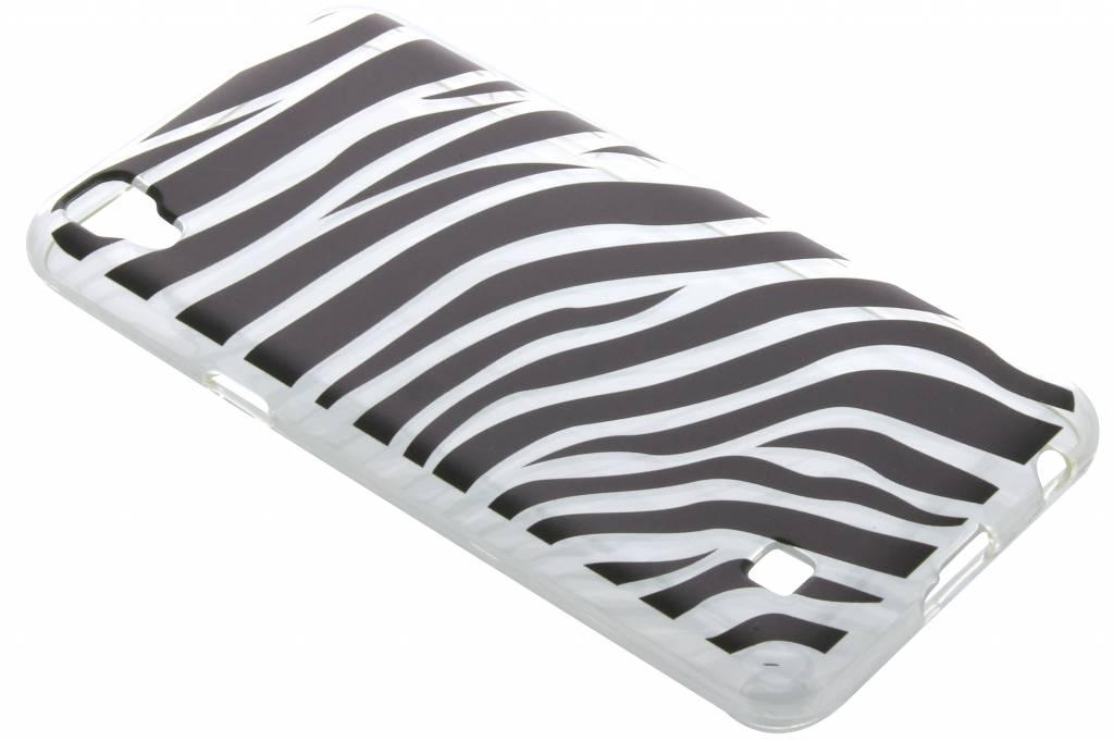 Dierenprint design Zebra TPU hoesje voor de LG X Power