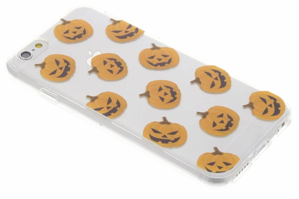 Halloween design pompoentjes TPU hoesje voor de iPhone 6 / 6s