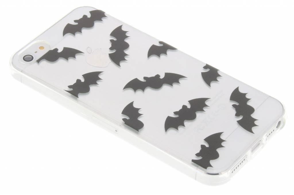 Halloween design vleermuizen TPU hoesje voor de iPhone 5 / 5s / SE