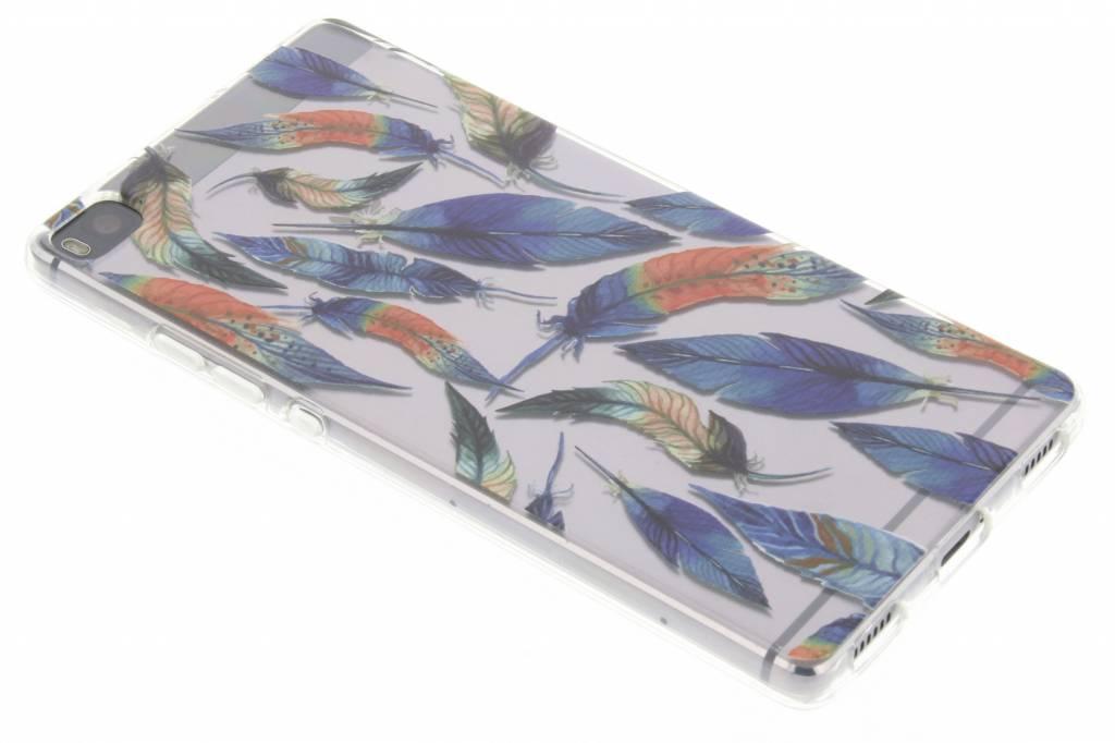 Ibiza feather case voor de Huawei P8