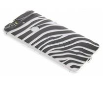 Dierenprint design Zebra TPU hoesje Huawei Nexus 6P