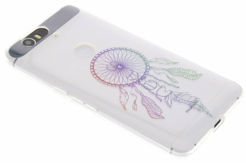 Multicolor dromenvanger design TPU hoesje voor de Huawei Nexus 6P