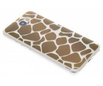 Dierenprint design Giraffe TPU hoesje Huawei Y5 2 / Y6 2 Compact